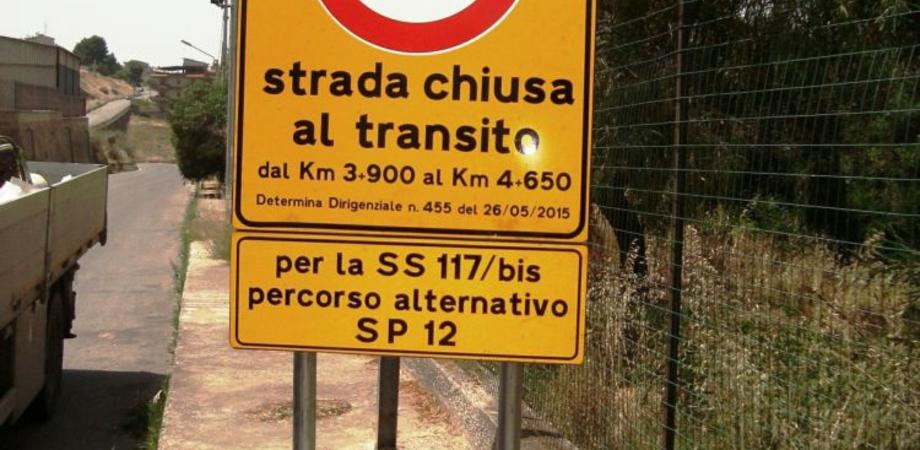 Chiuso al traffico un tratto della Sp 10 Gela – Niscemi:al via i lavori di manutenzione