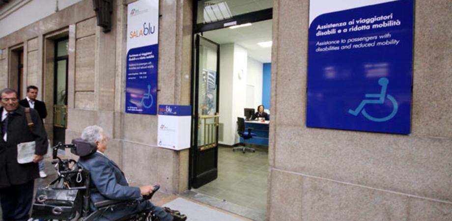 Alla Stazione ferroviaria Caltanissetta-Xirbi una Sala Blu: un servizio per l'assistenza ai disabili e agli anziani