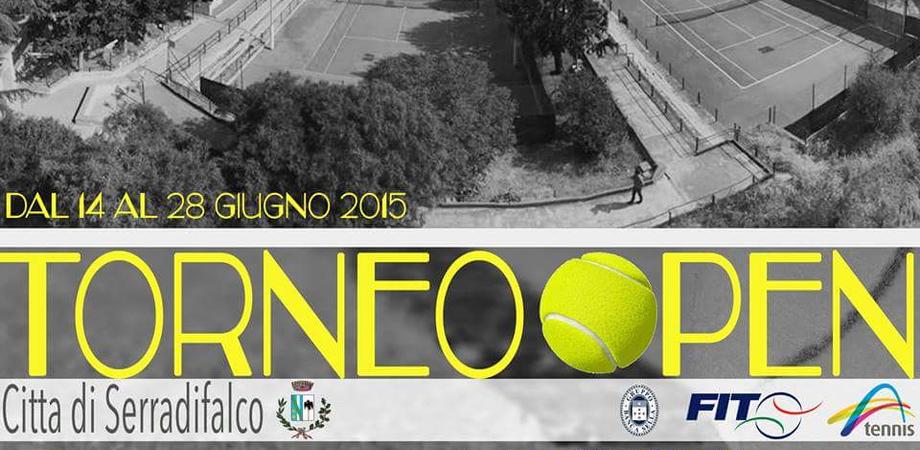 """Torneo di Tennis a Serradifalco: un """"open"""" dal ricco montepremi"""