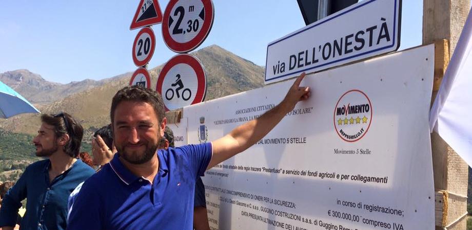 """Ecco la scorciatoia dei grillini per l'autostrada. Giancarlo Cancelleri: """"Impegno rispettato, pronti per governare"""""""