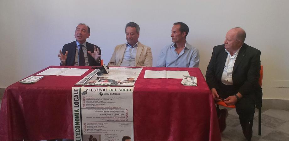 """Festival del Socio, vetrina per le imprese. """"Così la Bcc del Nisseno investe sul territorio"""""""