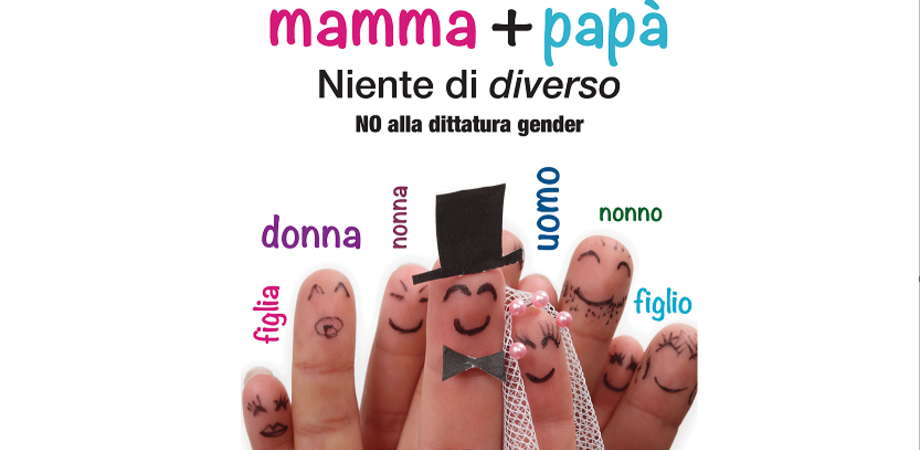 """""""Contro l'ideologia gender"""", venerdì incontro a Caltanissetta del Comitato Sì alla Famiglia"""