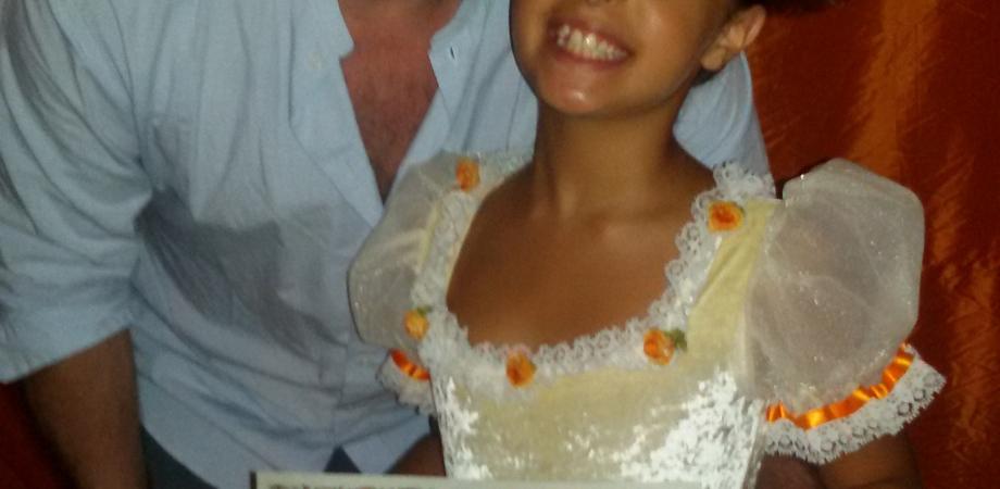 La piccola ballerina Silvia Distefano terza al Concorso Internazionale Scala dei Turchi