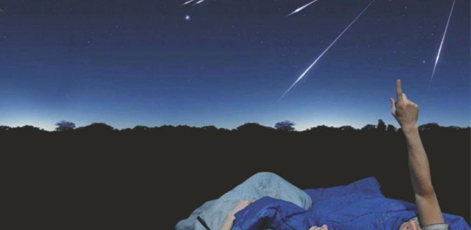 """Si torna con il """"naso in su"""": tra il 12 e il 13 il picco delle stelle comete"""