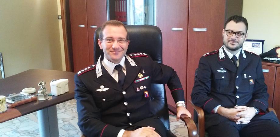 """""""L'Arma sarà sempre al fianco dei nisseni"""". Il colonnello Gerardo Petitto si insedia al Comando provinciale"""