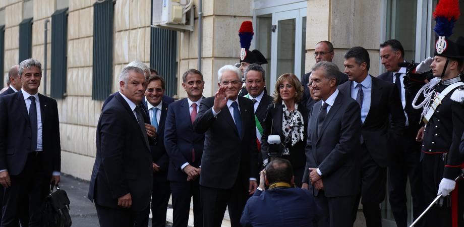 L'abbraccio di Caltanissetta al presidente Mattarella. Ricordato il martirio dei giudici Saetta e Livatino