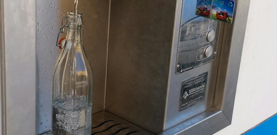 """La """"Casa dell'acqua"""" porta a Montedoro qualità e risparmio economico"""