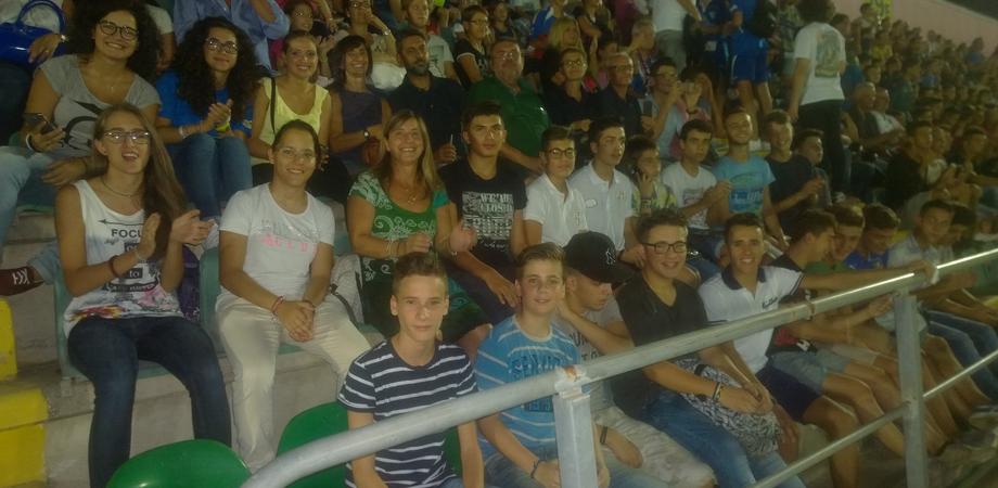 Gli allievi del Liceo Sportivo in trasferta per guardare la nazionale di calcio