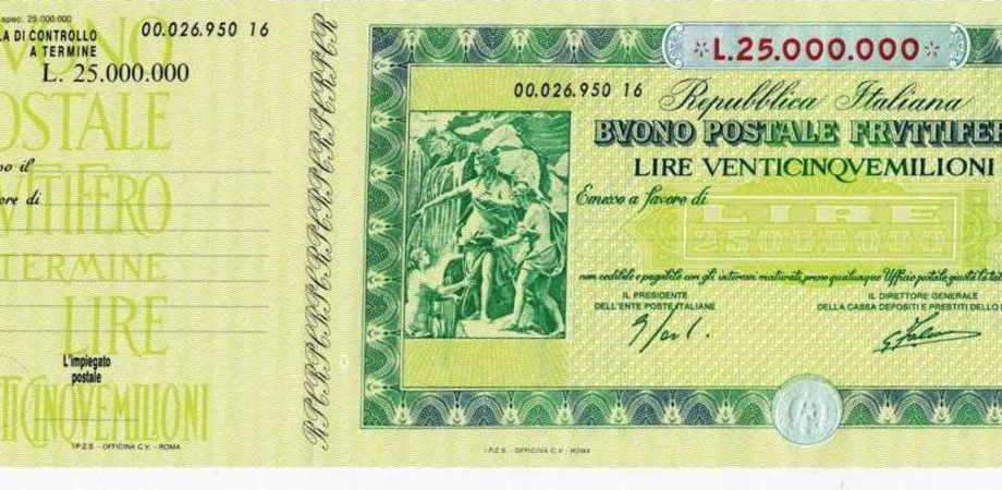 Ultra centenaria di Caltanissetta ritrova buono fruttifero di 38 anni fa: ora vale 228 mila euro