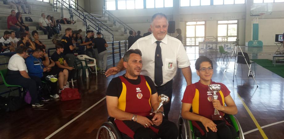 Panca e pesistica paralimpica, Campione e Lipani (Fiamme Oro) primeggiano ai campionati regionali