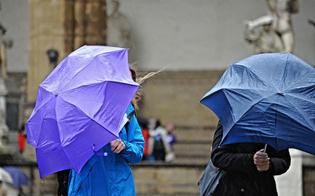 Raffiche di vento e temporali, ancora maltempo in Sicilia: allerta gialla a Caltanissetta