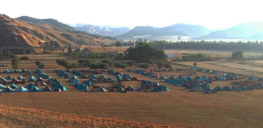 Campo scout nel bosco Imera, weekend di festa per migliaia di giovani siciliani