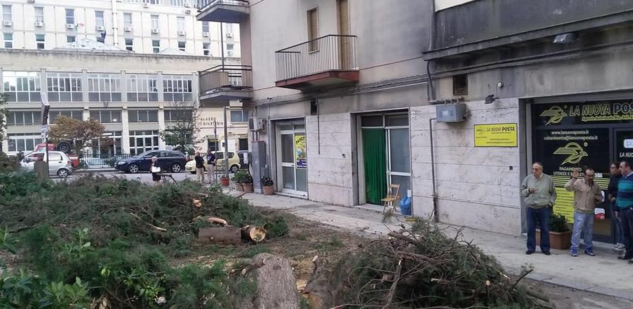 Il day after del maltempo a Caltanissetta, no stop dei vigili del fuoco. Il Comune pronto a chiedere il risarcimento danni