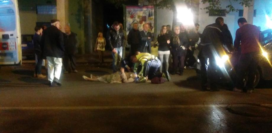Attraversa la strada, pensionata nissena investita da un'auto in via Filippo Turati