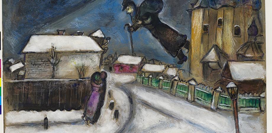 Mostre. Al Castello Ursino di Catania le opere di Chagall fino al 14 febbraio