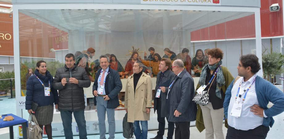 """L'Ultima Cena e il concorso del selfie presentati a Expo. Ruvolo: """"La Pasqua nissena in uno scenario internazionale"""""""
