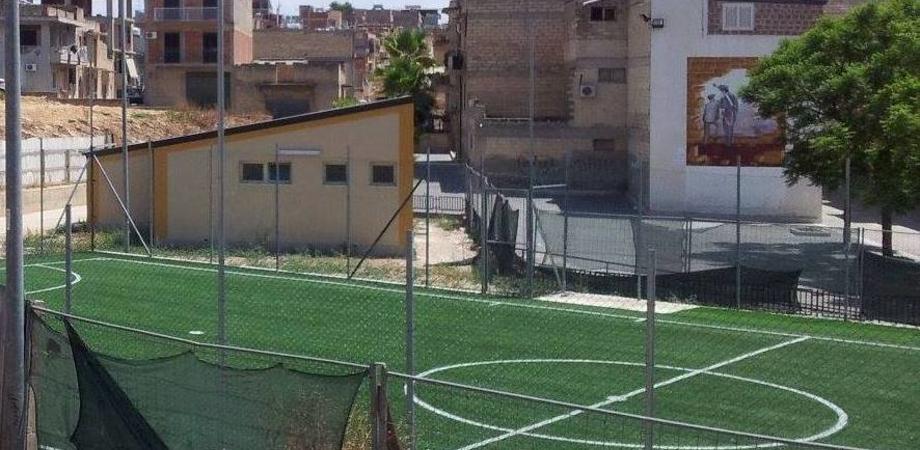 A Niscemi un campo di calcio contro la devianza giovanile. Venerdì l'inaugurazione