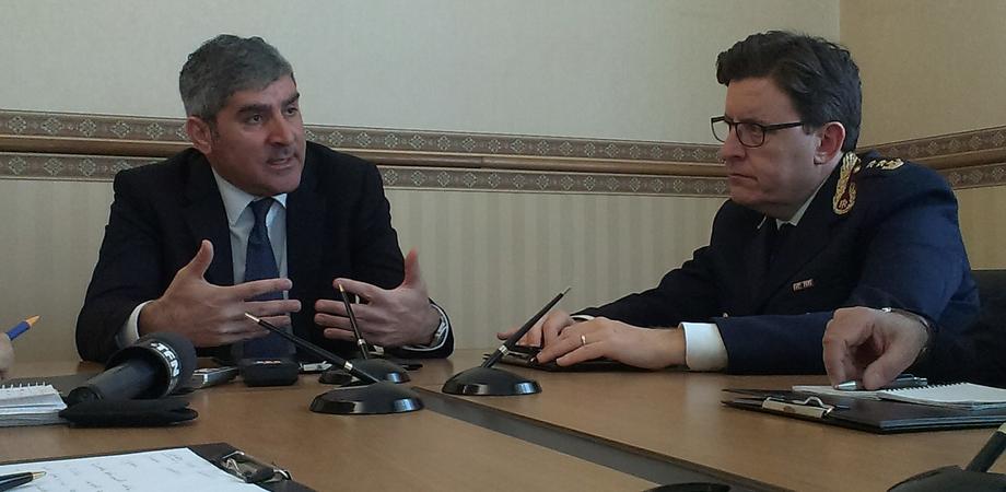 Movida e lotta allo spaccio di droga a Caltanissetta, il questore Megale traccia il bilancio della Polizia con la stampa
