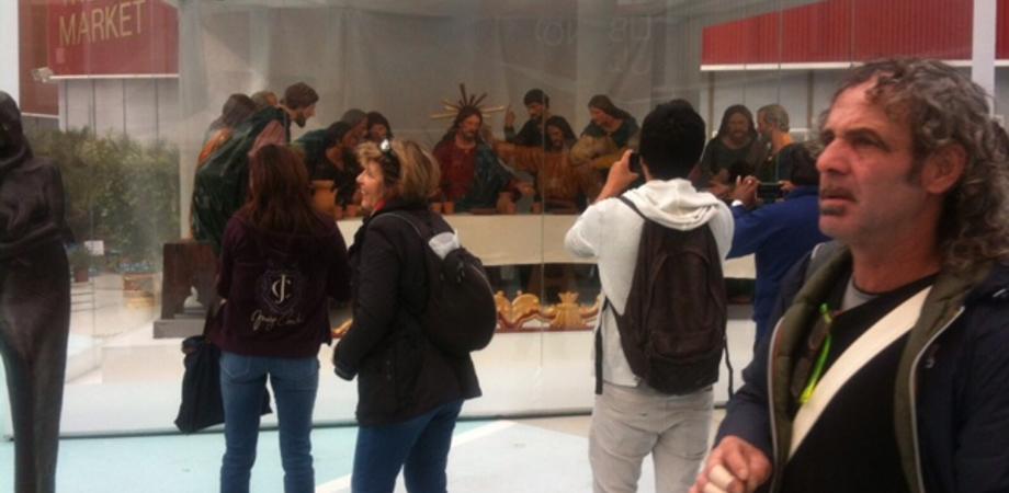 A Expo tutti pazzi per l'Ultima Cena. Primi contatti con tour operator stranieri per conoscere la Settimana Santa