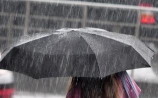 Caltanissetta, allerta meteo arancione: previste piogge e raffiche di vento