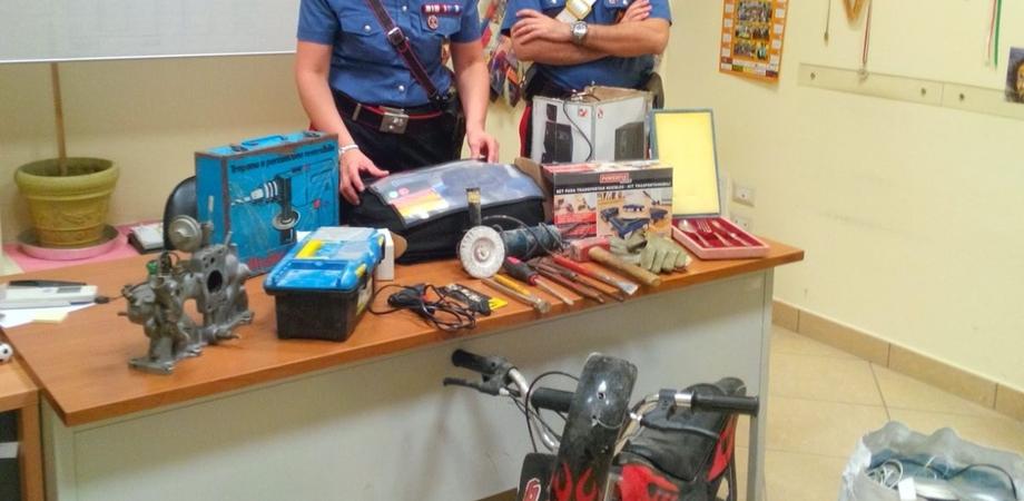 Furto di moto e utensili nelle campagne di Caltanissetta, due persone arrestate. Il giudice li rimette in libertà dopo 24 ore
