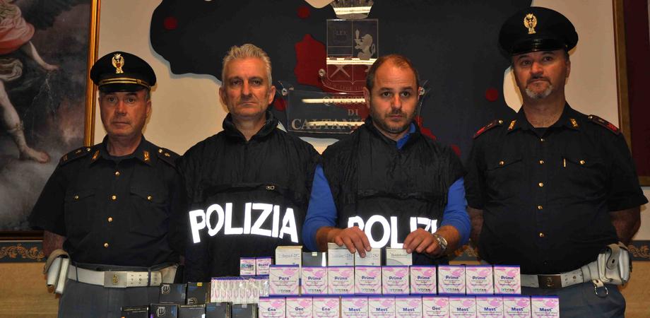Traffico di anabolizzanti, arrestato a Caltanissetta l'istruttore di una palestra. La Mobile indaga nel mondo del bodybuilding