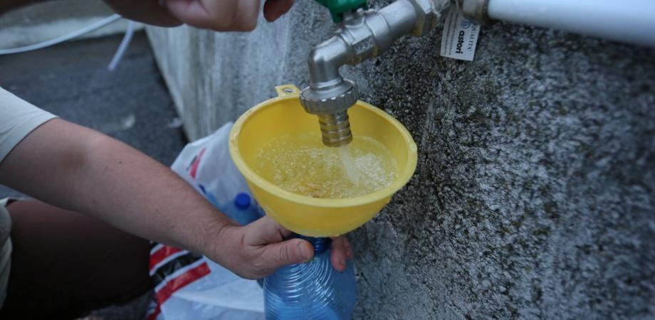 Acqua a Caltanissetta, lunedì distribuzione a Firrio e via Paladini. A San Cataldo servite Platani e Pizzo Carano