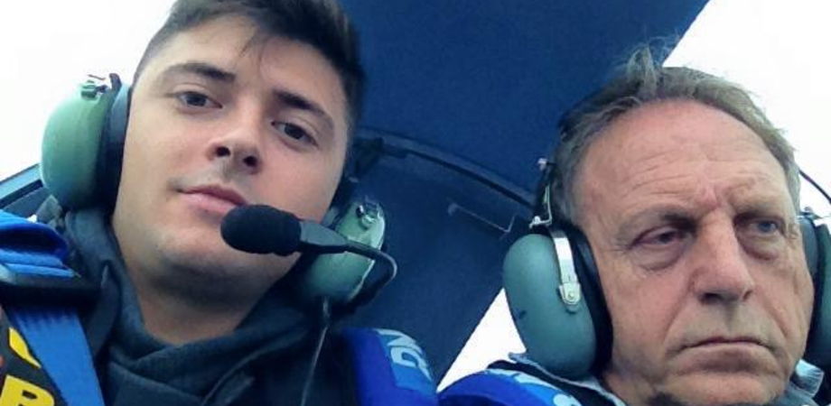 """Gela sotto choc per la morte di padre e figlio in aereo. Il sindaco Messinese: """"Esempio di intrepido civismo solidale"""""""