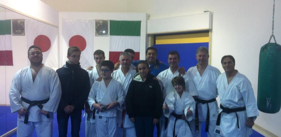 """Karate, stage alla scuola """"Hiroshy Shiraj"""" in vista dei campionati regionali"""