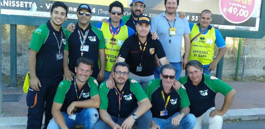 Rally Day Centro Sicilia, ufficiali di gara nisseni schierati alla prova speciale