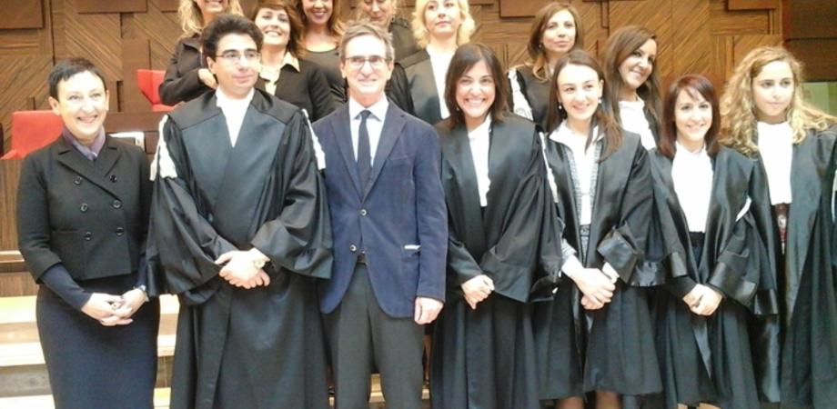 In Tribunale a Gela vince il ''rosa'': coperta pianta organica, insediate 7 donne e un uomo