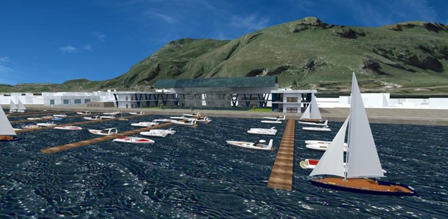Rilanciare la Sicilia con un porto per giga yacht: il progetto del nisseno Gianmarco Caruso approda a Valderice