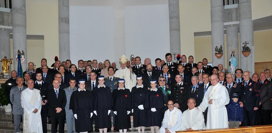 Caltanissetta, carabinieri in festa per la patrona Virgo Fidelis