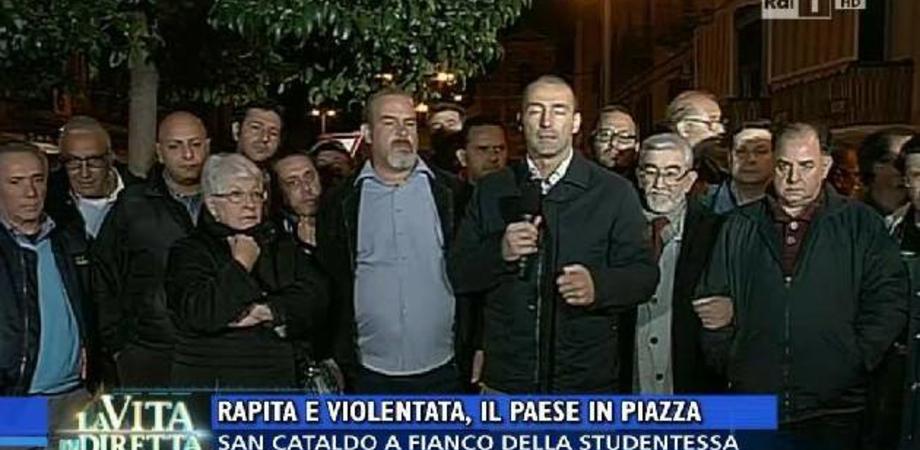 """Ragazza stuprata, Ruvolo scrive a La vita in diretta: """"Caso strumentalizzato, Caltanissetta città tollerante"""""""