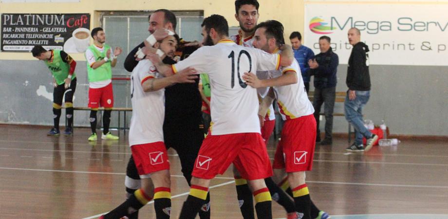 Nissa Futsal vittoriosa al derby siciliano. I giallorossi accarezzano la riconferma in serie B