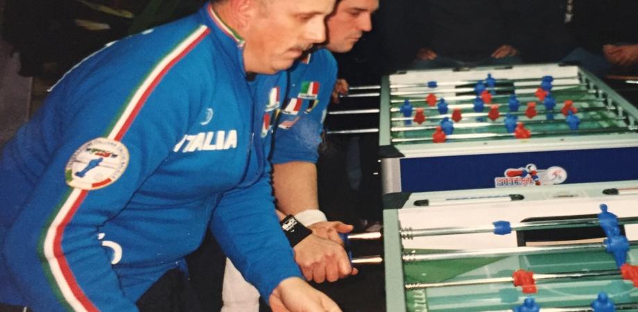 Calcio Balilla, il nisseno D'Anna trionfa ai campionati nazionali di Saint Vincent