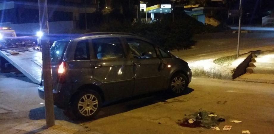 Caltanissetta. Automobilista grave dopo schianto autonomo in via Michele Amari