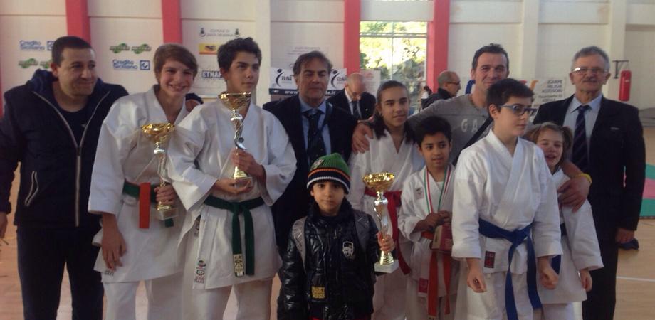 Karate, trionfo nisseno ai campionati regionali. Primo posto per Liborio Salerno