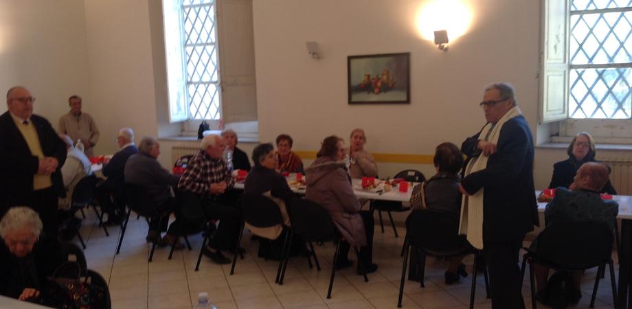 Pranzo di Natale al Testasecca: rinnovata la tradizione al centro diurno per anziani