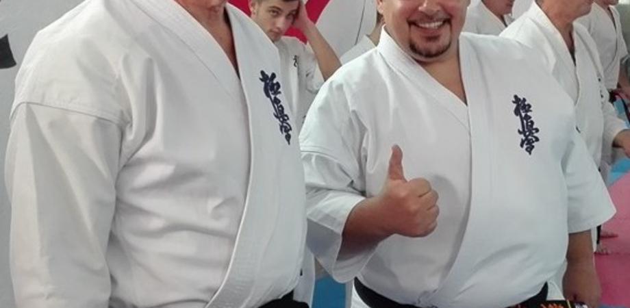 Trasferta leccese per i maestri di arti marziali Alfonso Torregrossa e Riccardo Villa