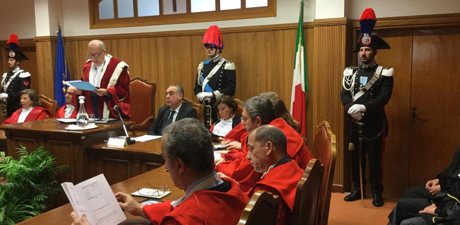 """Anno giudiziario a Caltanissetta, l'allarme di Cardinale: """"Corruzione dilagante nel territorio"""". Bordate alla politica"""