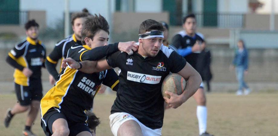 Triskele: nona vittoria alla nona partita della giovane squadra di rugby