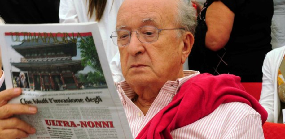 L'ex ministro Ciriaco De Mita a Caltanissetta. Lunedì si presenta il libro sui fatti d'Italia