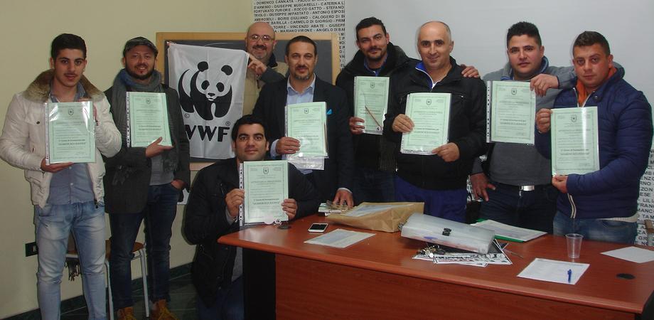 """Guardie Eco-zoofile Wwf, arruolati venti volontari a San Cataldo. """"Vigileremo sulla tutela degli animali e della natura"""""""