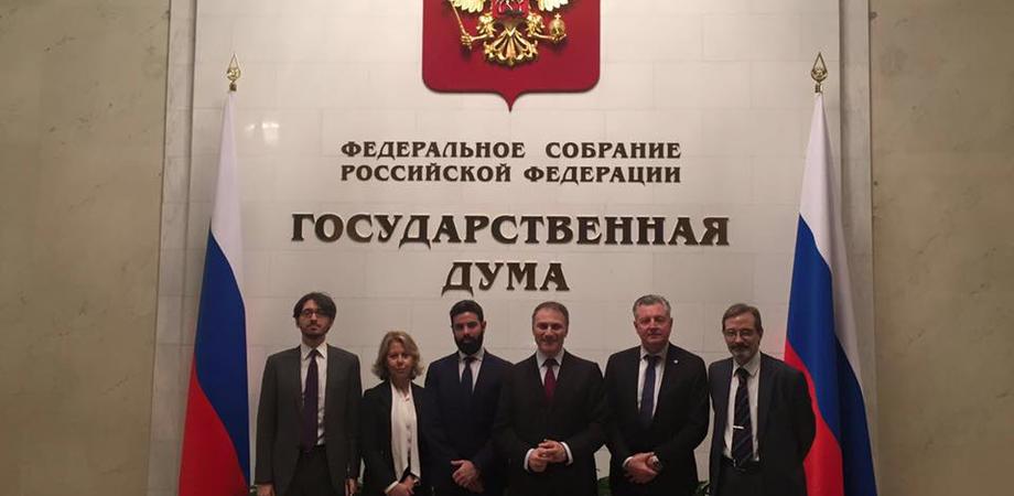 """Missione interparlamentare a Mosca, Pagano (Ncd): """"Dialogo su gasdotto e scambi economici"""""""