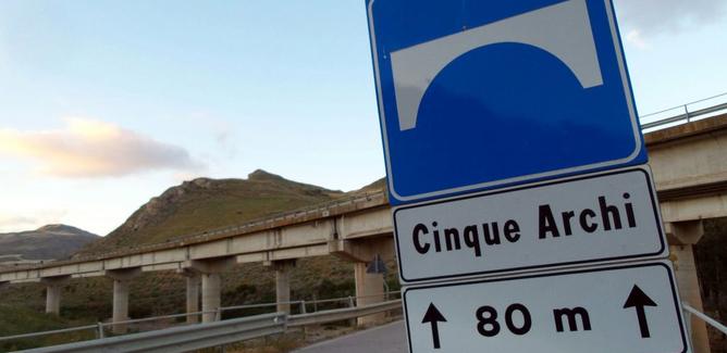 Autostrada A19, da domani chiusa tra Enna e Ponte Cinque Archi in direzione Palermo