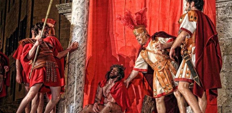 La Passione di Cristo con 168 attori, tour religioso sabato e domenica a Mussomeli