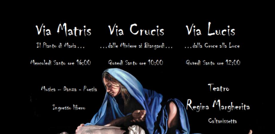 """Settimana Santa nissena. Al """"Margherita"""" eventi di danza, musica e poesia"""