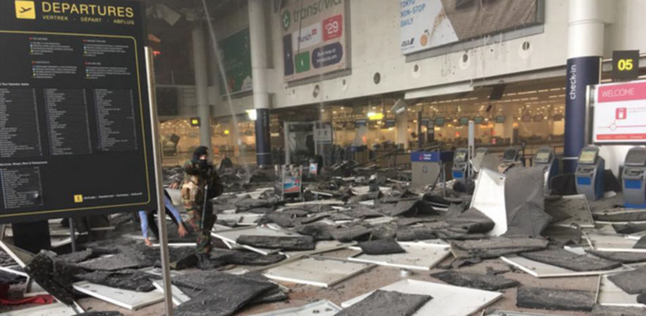 """Attentati di Bruxelles, operaio di San Cataldo tra i primi soccorritori. """"Odore di bruciato e quella bimba ustionata..."""""""