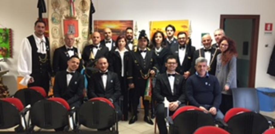 Real Maestranza, il capitano Castelli in visita ai minori reclusi e all'Unione Ciechi